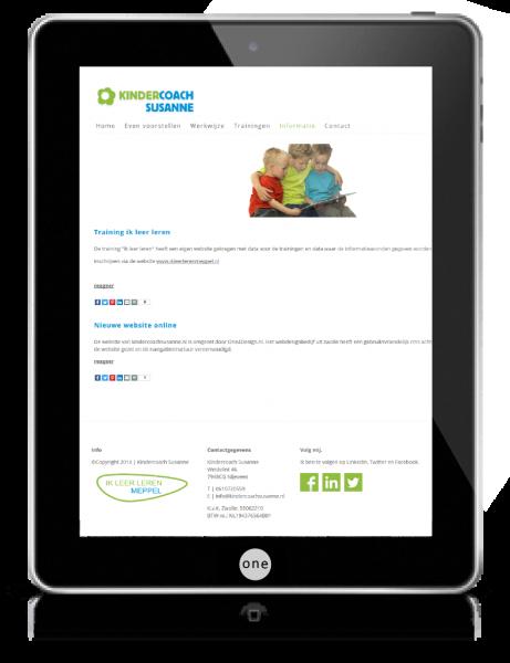 webdesign zwolle ipadkindercoach