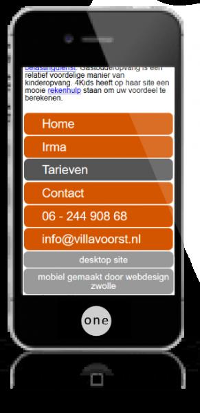 webdesign zwolle iphonevillavoorst