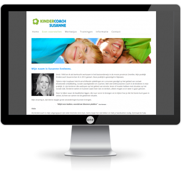 webdesign zwolle kindercoach