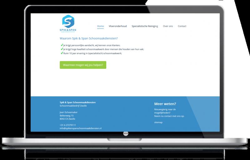 webdesign zwolle laptopspikenspan