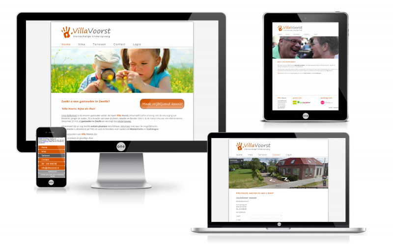 webdesign zwolle villavoorstmockup